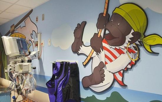 纽约儿童医院海盗风格CT室受欢迎