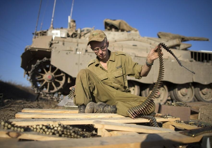 以色列和中国军演_以色列装甲大军向叙边境集结-中国日报网