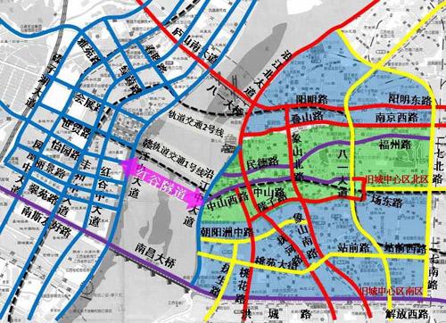 南昌市城乡规划局组织编制了《红谷隧道工程