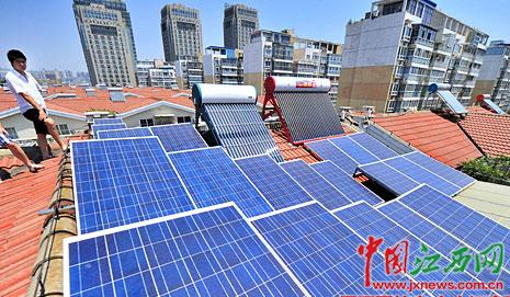 家庭屋顶装光伏电站补贴下调1元 南昌将建500