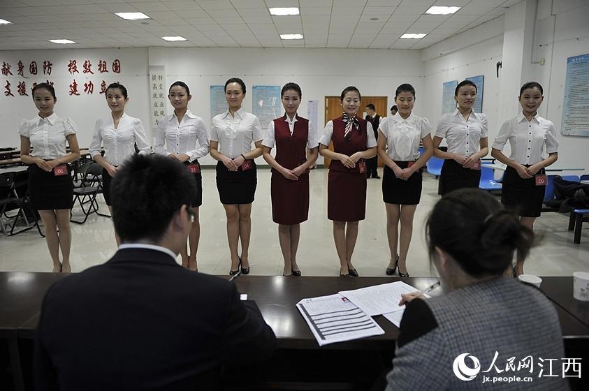 航空公司来昌招人 俊男靓女争抢岗位【2】