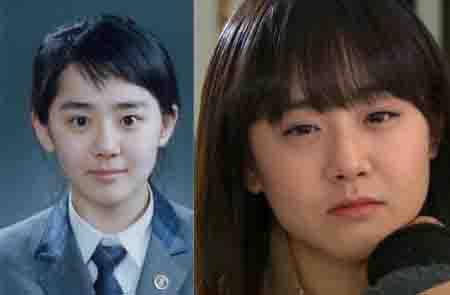 韩国童星今昔对比