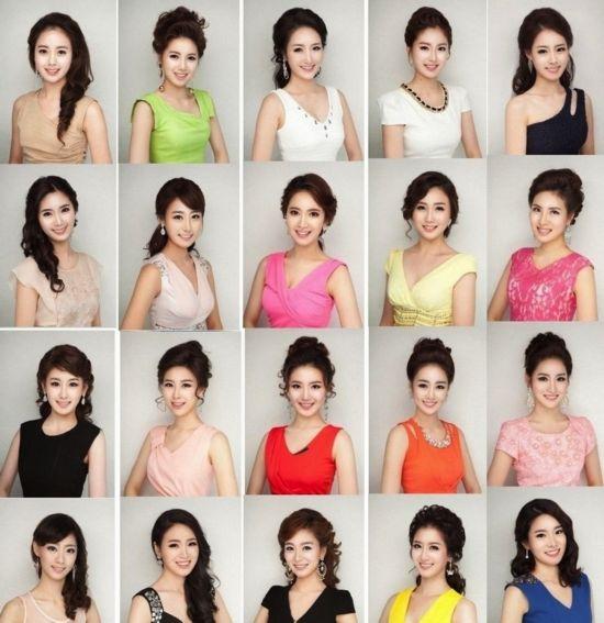 韩国小姐集体撞脸遭吐槽 惊看整容时代前的韩