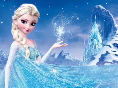 女孩都爱艾莎公主