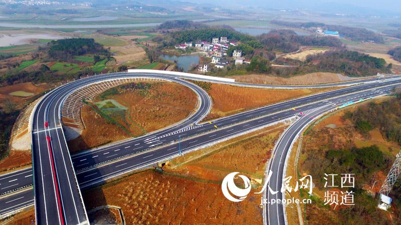 江西12条高速建成通车 高清图告诉你这些高速有多美