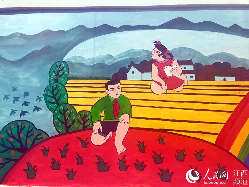 """江西万安举办""""中国精神·中国梦""""全国农民画创作展"""