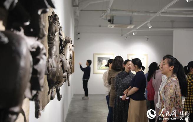 央美景居校友艺术展在陶溪川举办
