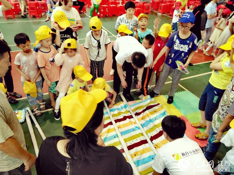 公众参与充满趣味性的防灾减灾活动,在娱乐中提升防范应对灾难的基本技能。