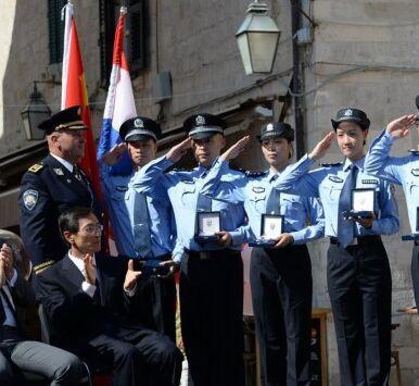 中国克罗地亚警务联合巡逻启动