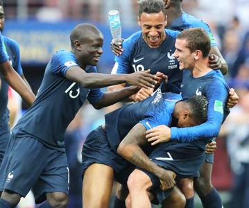 法国队再捧大力神杯