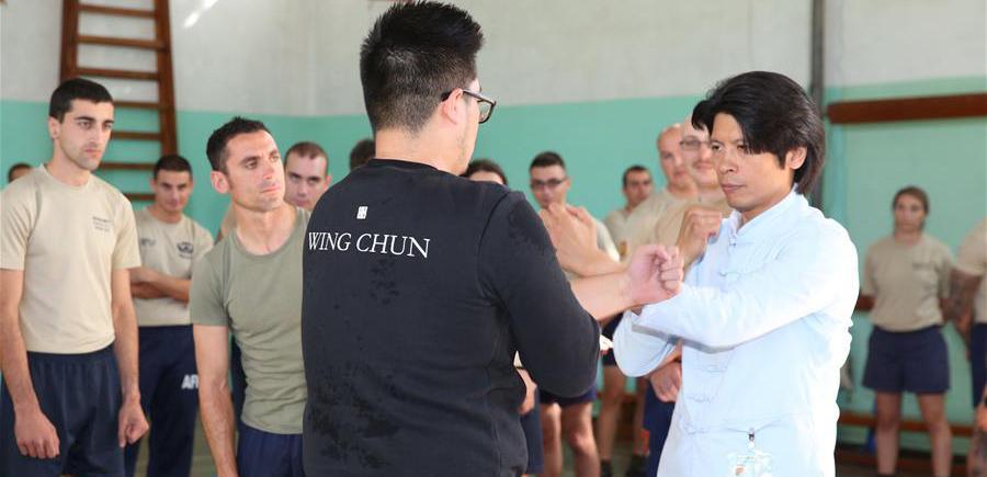 中国咏春拳走进马耳他武装部队