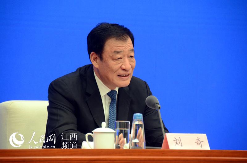 刘奇这样推介江西:红色省份中最绿 绿色省份中最红